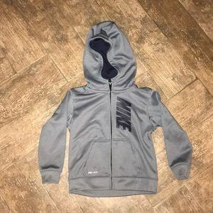 Nike Dri-Fit zip up hoodie